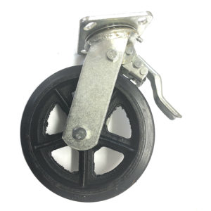 8'' X 2 '' TOTAL LOCKING CASTER