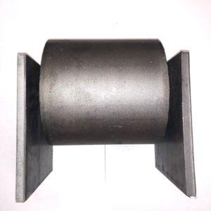 6'' x 6'' ground roller assembled